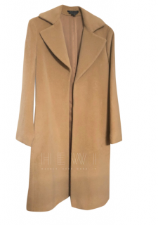 Theory Camel Wool Coat