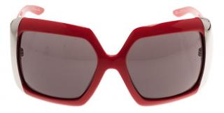 Dior Red Diorissima 1 Square Sunglasses