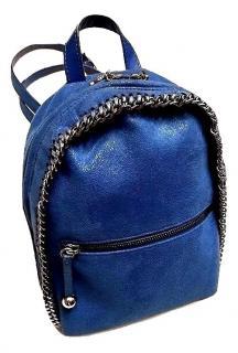 Stella McCartney Falabella Blue Mini Backpack