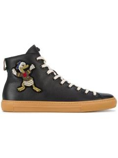 Gucci Donald Duck High Top Sneakers