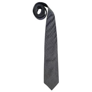 Kenzo Homme SIlk Embroidered Tie