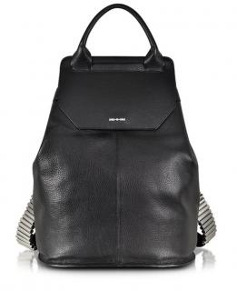 MCQ Alexander McQueen Black Razor Leather Backpack