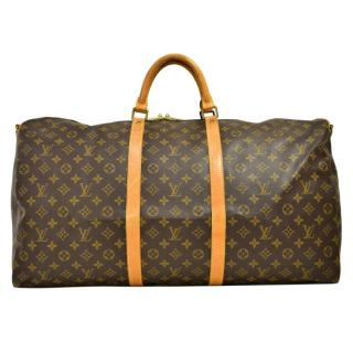 Lous Vuitton Monogram Keepall Bandouliere 55