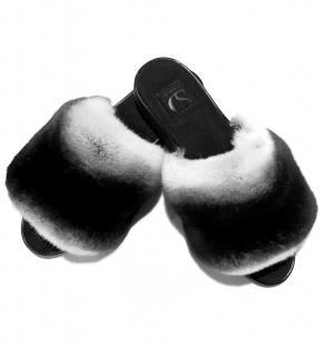 Furby SD Ranched Chinchilla Fur Slides