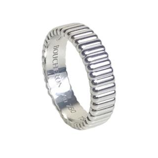 Boucheron white gold quatre Grosgrain ring
