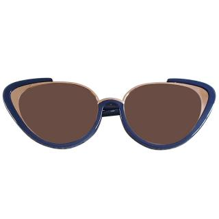 Linda Farrow Khira 736/C7 Cat-Eye Sunglasses