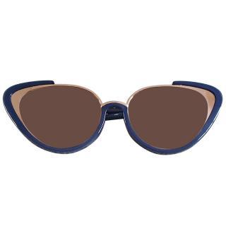 Linda Farrow Khira 736/C7 Cat-Eye Sunglasses