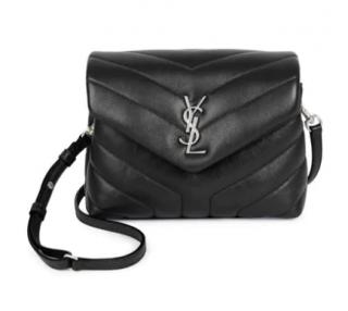 Saint Laurent Toy Loulou Matelass� Leather Crossbody Bag