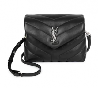 Saint Laurent Toy Loulou Matelass� Leather Crossbody Bag