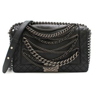Chanel Black Boy Enchained Flap Bag