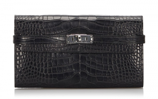 Hermes Alligator Kelly Wallet