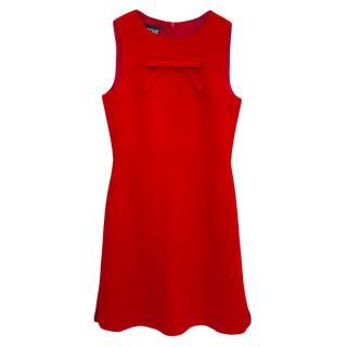 Boutique Moschino virgin wool red dress