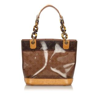 Louis Vuitton Monogram Cabas Sac Ambre PM Shoulder Bag