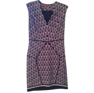 MIssoni Purple Printed Dress