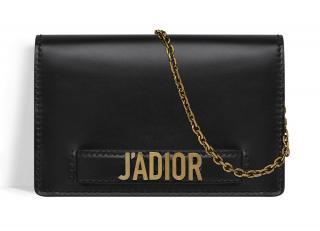 Dior J'adior Black Wallet On Chain