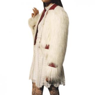Giambattista Valli x H&M faux fur jacket sold out