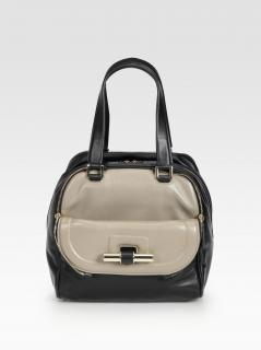 Jimmy Choo Two Toned Justine Bag