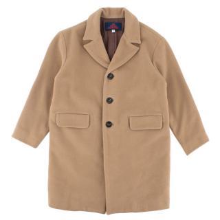 The Animals Observatory Beige Wool Blazer Coat