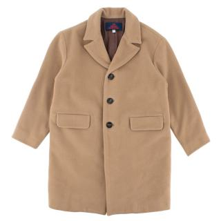 The Animals Observatory Beige Wool Blazer Coat