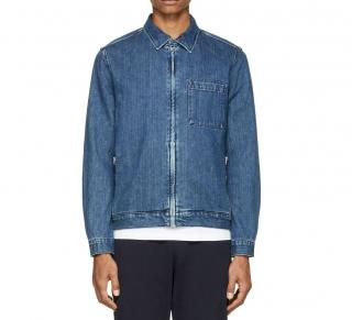 Paul Smith Jeans Blue Denim Trucker Jacket