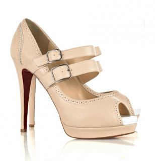 Christian Louboutin Luly 140 Leather Sandals