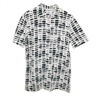 Helmut Lang Printed Black & White Shirt