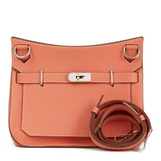 Hermes Jypsiere 31cms in Crevette Togo Leather