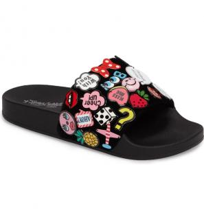 Jeffrey Campbell Jova embellished sliders