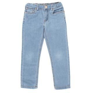 Bonpoint Blue straight cut kids jeans
