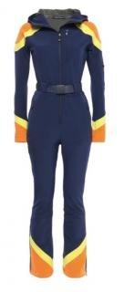 Perfect Moment striped navy shell ski jumpsuit