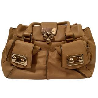 Celine Caramel Soft Tote Bag