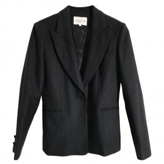 Claudie Pierlot Navy Wool Blend Jacket