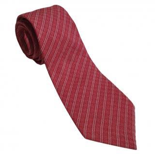 Giorgio Armani Silk Red Tie
