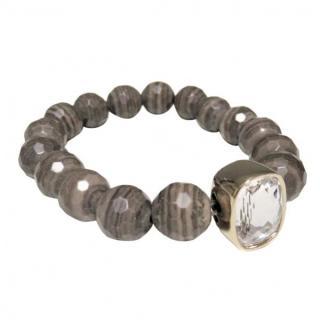 Dyrberg/Kern Crystal Stone Bracelet