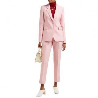 Gabriela Hearst Sophie single-breasted wool & silk-blend suit set