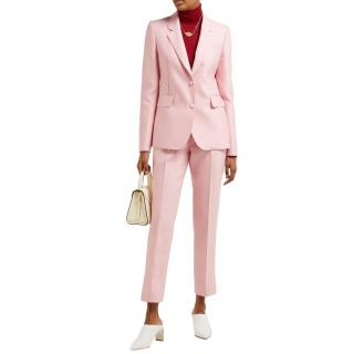 Gabriela Hearst Sophie single-breasted wool & silk-blend suit set