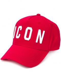 DSQUARED Icon Cotton Red Cap