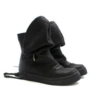 CA by Cinzia Araia Slouchy Flat Boots Black