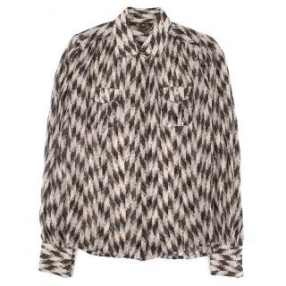Loro Piana Silk Printed Shirt