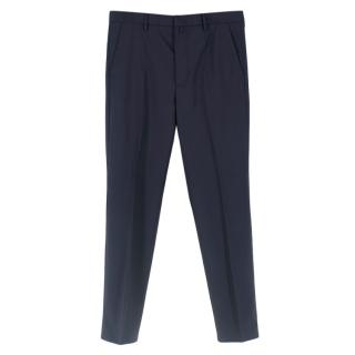 McQ by Alexander McQueen Navy Fitted Tailored Pants