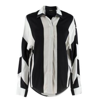 Dodo Bar Or Silk Satin Noy Shirt 40