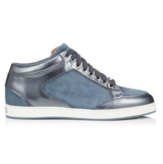 Jimmy Choo Dusk Blue Miami Low Trainers