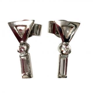 Bespoke Baguette Diamond Earrings