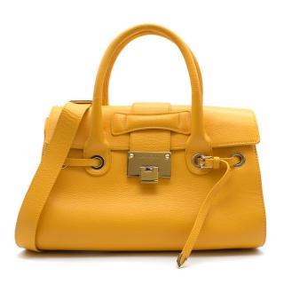 Jimmy Choo Mustard Yellow Bag
