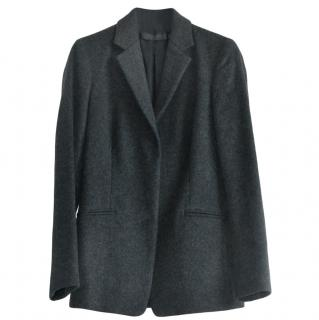 Calvin Klein Collection Charcoal Single Wool Jacket
