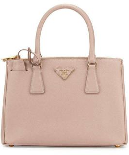 Prada Cammeo Saffiano Leather Galleria Tote Bag