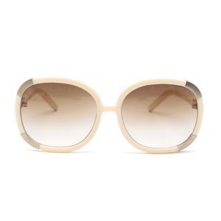 Chloe Boxwood Square Myrte Sunglasses