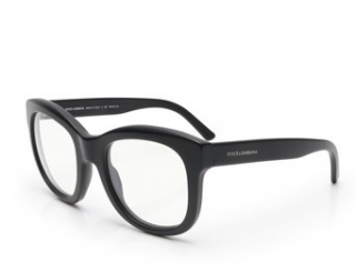 Dolce & Gabbana Black Square Glasses