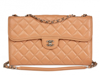 Chanel Mocha Quilted Flap Bag