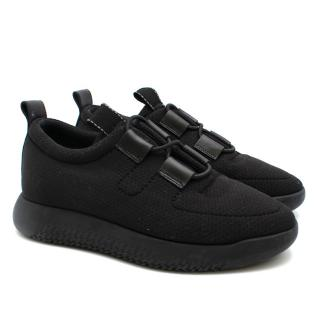 Hermes Black Slip-On Sneakers